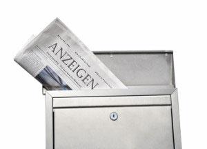 Werbung Friseur Anzeigen Zeitung