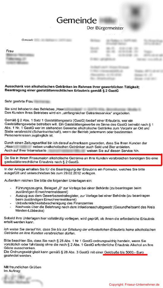 Alkohol für Kunden in Friseursalons verboten! - Friseur-Unternehmer.de
