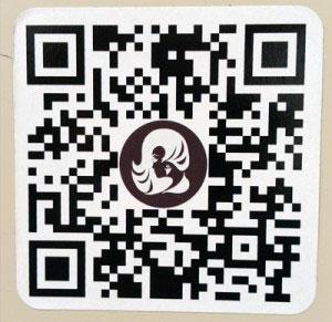 Werbung Friseur QR-Code