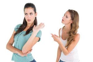 Konflikt Friseursalon Streit Ärger Stress