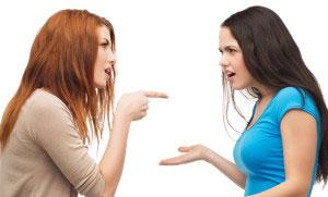 Konflikt Friseursalon Streit Ärger