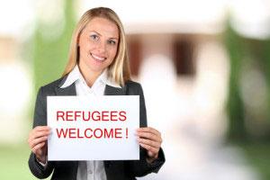 Flüchtlinge einstellen Mitarbeiter Friseursalon Friseur