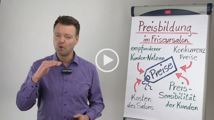 Friseur Marketing Werbung Video Seminare