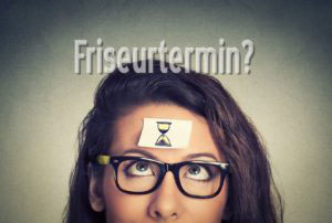 Friseurtermin Termin Ausfall Absage abgesagt nicht gekommen erschienen ausgeblieben Kunde Kundin Friseur