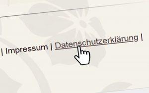Datenschutzerklärung DSGVO Salon Homepage Friseur Website Friseursalon Vorlage Beispiel Muster