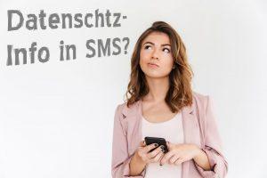 DSGVO Datenschutz Informationen SMS Terminbestätigung Friseur Friseursalon