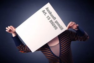 Auskunft Schreiben Text DSGVO Kunde Daten Datenschutz Friseur Friseursalon