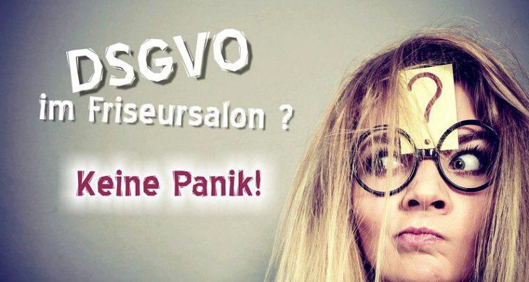 DSGVO Friseur DS-GVO Friseursalon Datenschutz