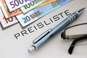 Preise kalkulieren Friseur Preis Kalkulation Friseursalon Preiskalkulation Preisliste berechnen Berechnung