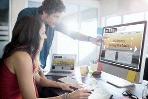 Friseur Homepage Salon Werbung
