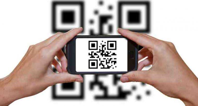 Werbung QR Code Friseur QR-Code