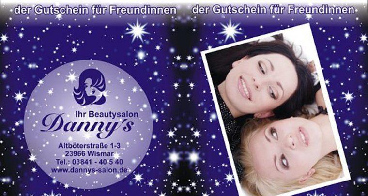 Two for One Gutschein Friseur Werbung Idee