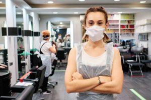 Azubi Hilfe Corona Friseur Auszubildende